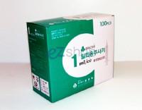 일회용주사기 (D/Syringe) 1CC 25G (5/8 inch/16mm)